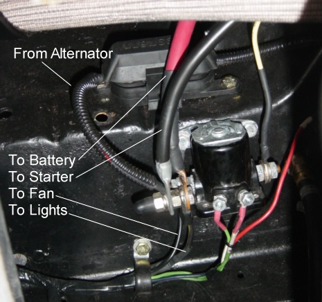 Solenoid need help with mini starter vintage mustang forums 1987 ford f150 starter solenoid wiring diagram at bayanpartner.co